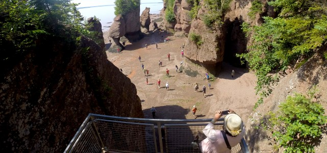 Hopewell Rocks and the Bay of Fundy If you find yourself traveling to New Brunswick there's one place you MUST visit – the Hopewell Rocks and the...