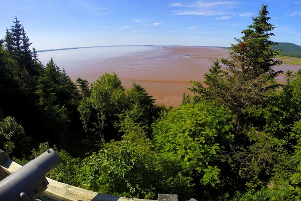 Daniels Flats Lookout, Hopewell Rocks