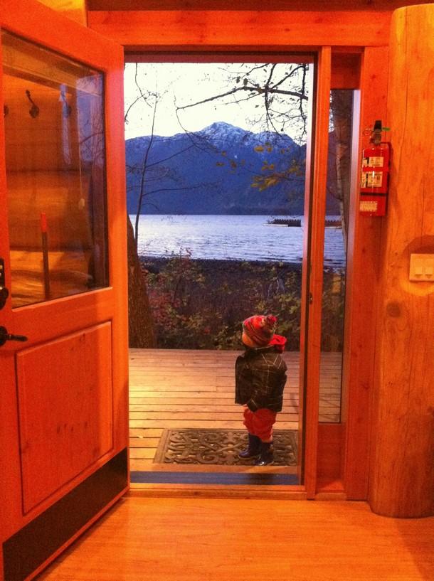 Olympic Legacy Cabin, Porteau Cove Provincial Park, British Columbia
