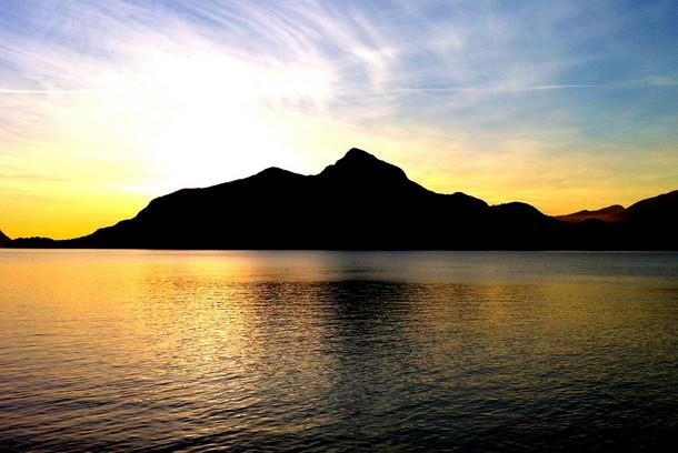 Sunset, Porteau Cove, British Columbia