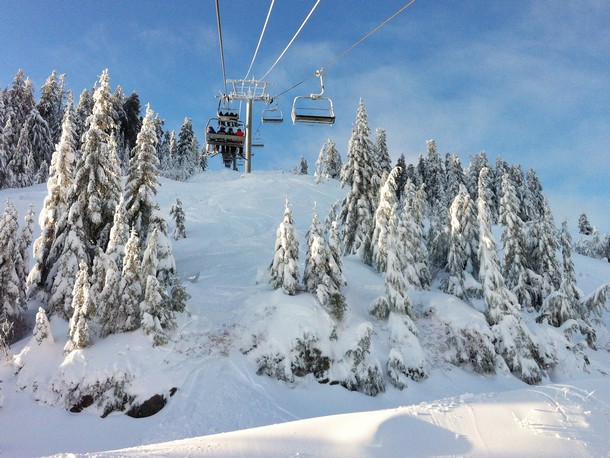 Snowboarding, Cypress Mountain, Vancouver, British Columbia