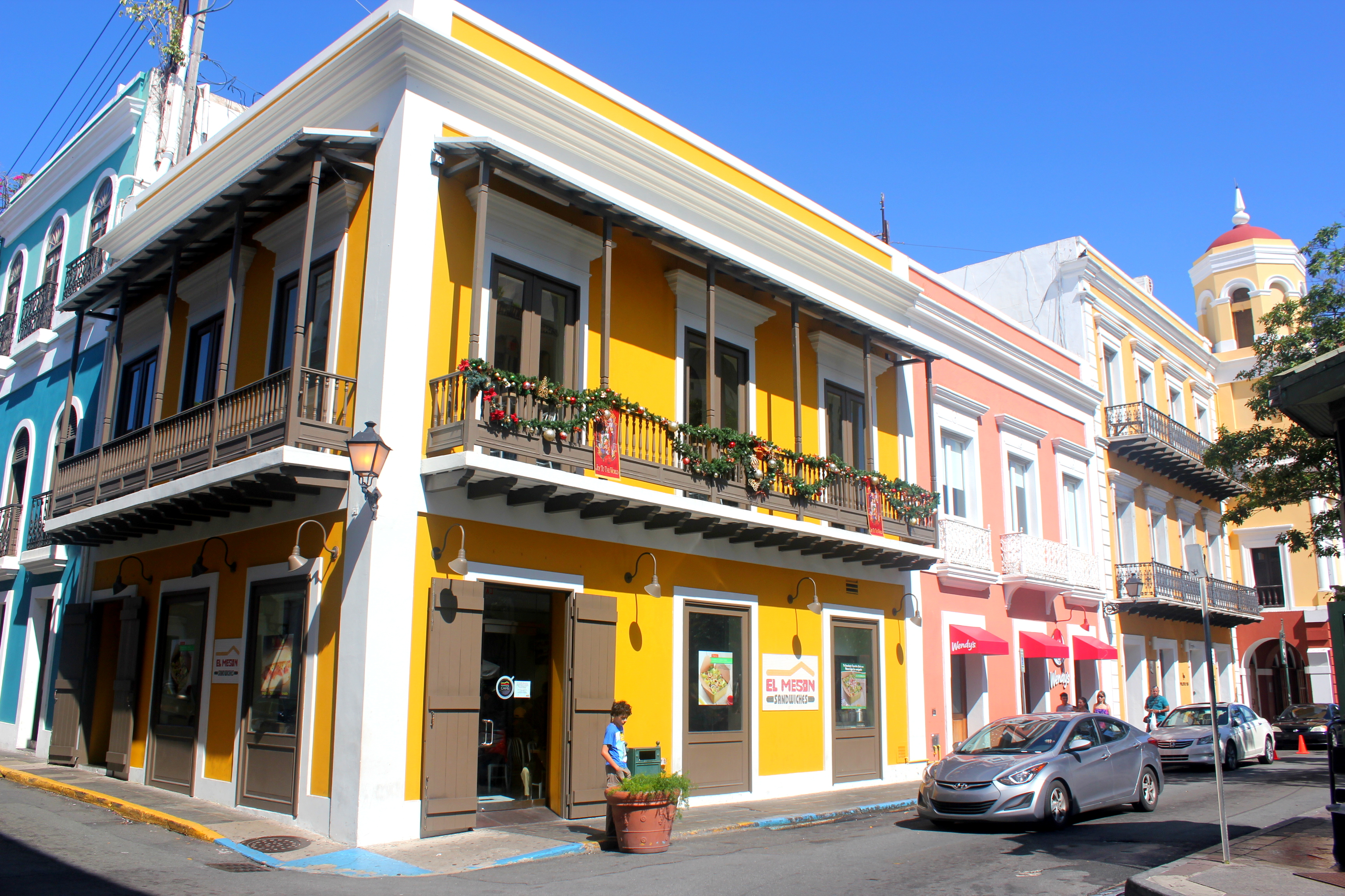The colourful streets of Old San Juan, Puerto Rico