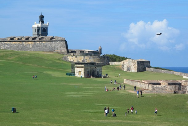 Fort San Felipe del Morro, Old San Juan, Puerto Rico