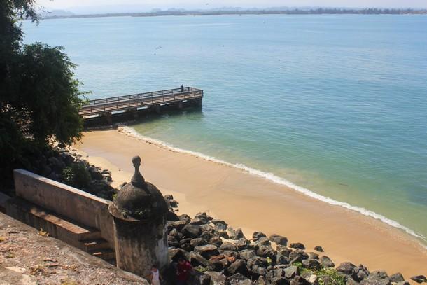 Beach, Old San Juan, Puerto Rico