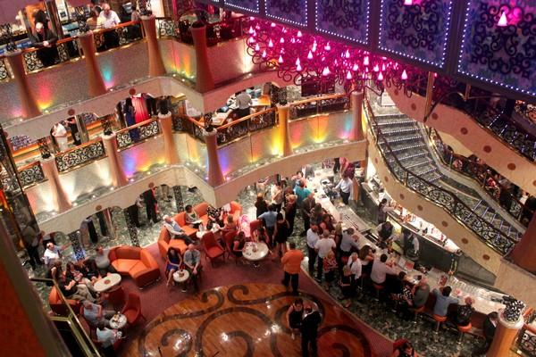Carnival Cruise Ship, Southern Caribbean Cruise