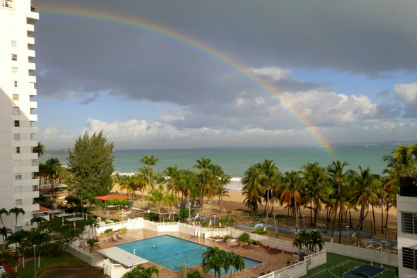 Apartment rental on Isla Verde Beach, San Juan, Puerto Rico