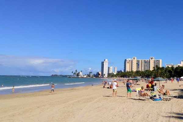 Playa Isla Verde, San Juan, Puerto Rico