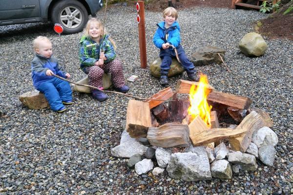 Campfire, Mount Baker, Washington