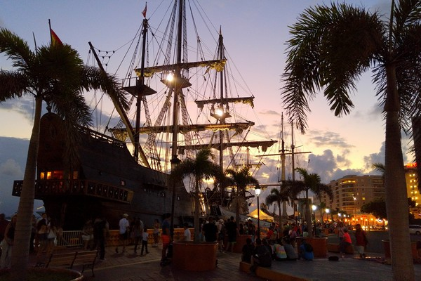 Pirate ship, Caribbean, San Juan, Puerto Rico