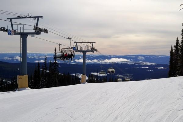 Sun Peaks Resort, British Columbia, Canada
