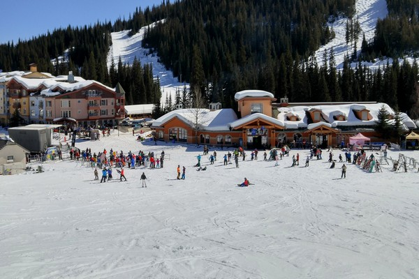 Sun Peaks Resort, British Columbia, Canada