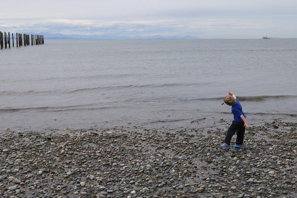 Beach, Point Roberts, Washington