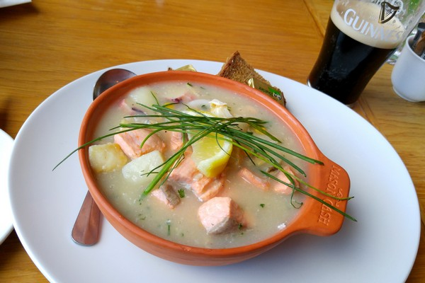 Portrush, Seafood Chowder, Northern Ireland