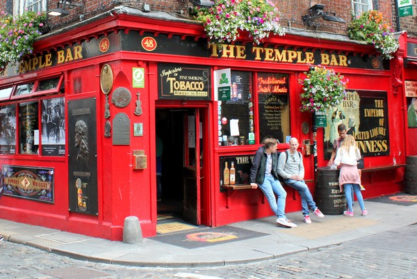 Ireland Road Trip, Dublin, Temple Bar