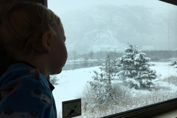 Polar Express Train, Squamish, British Columbia
