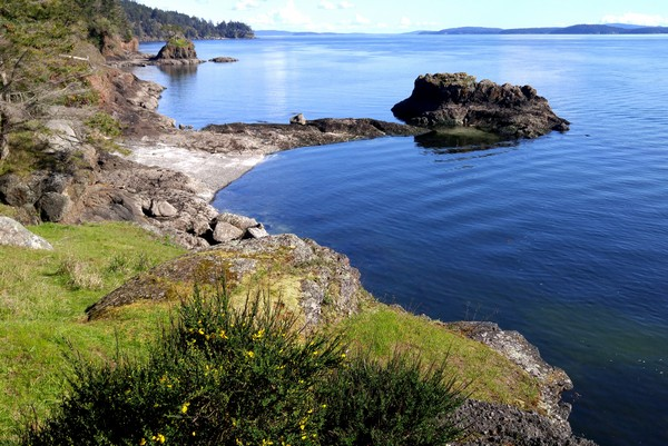 South Pender Island, Gulf Islands, British Columbia, Canada