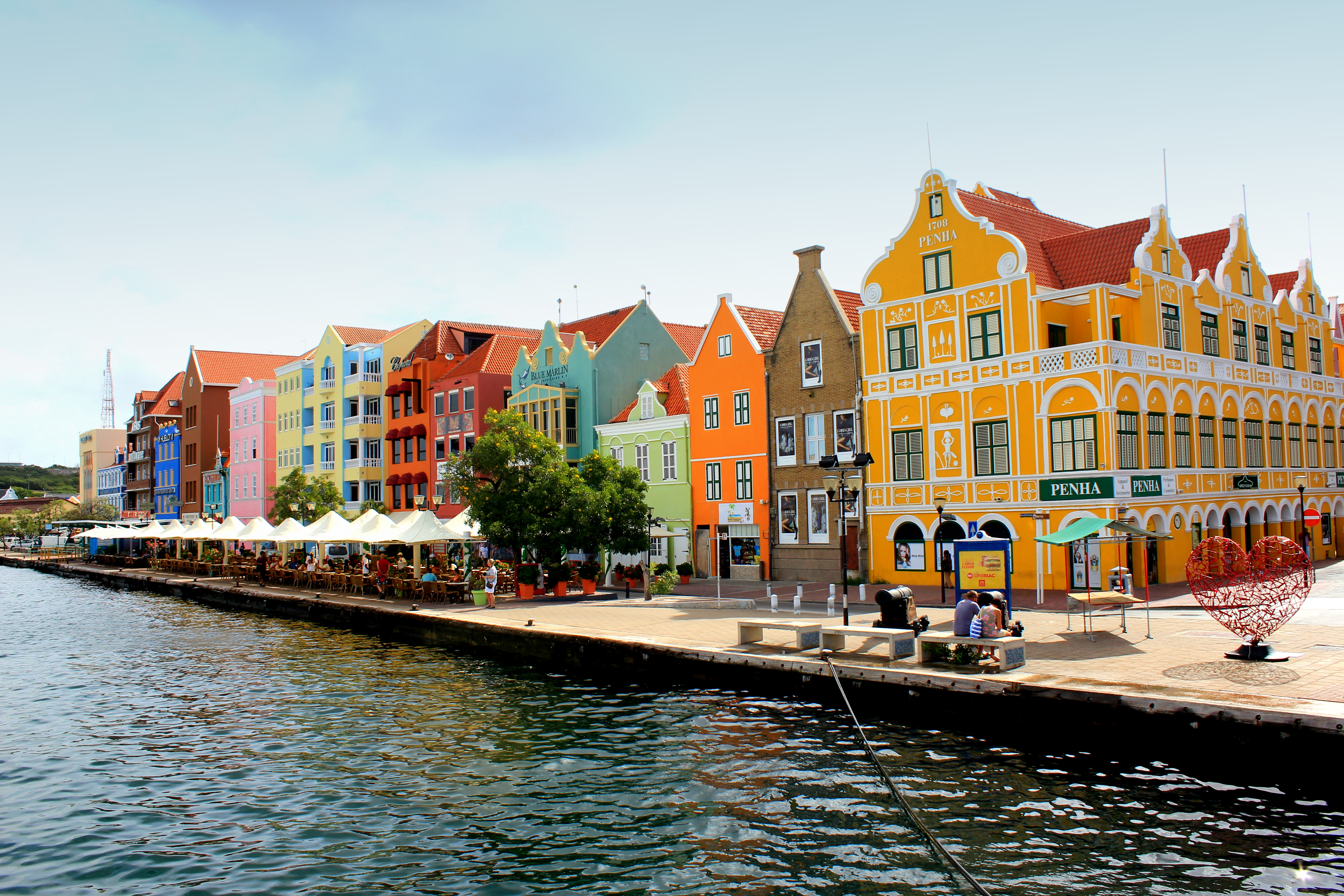 The Charming Old Town of Willemstad on Curaçao