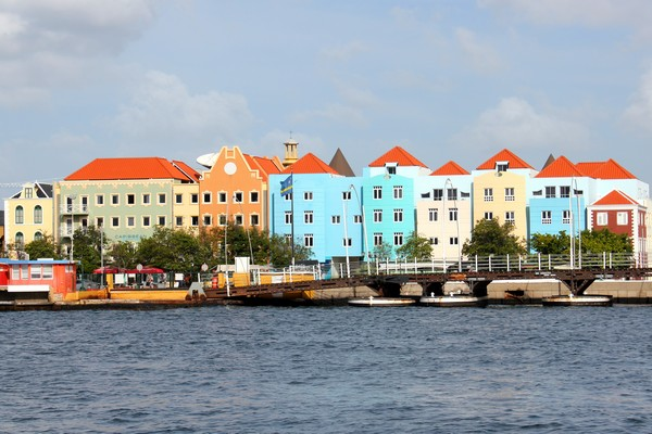 Old town, Willemstad, Curacao, Caribbean