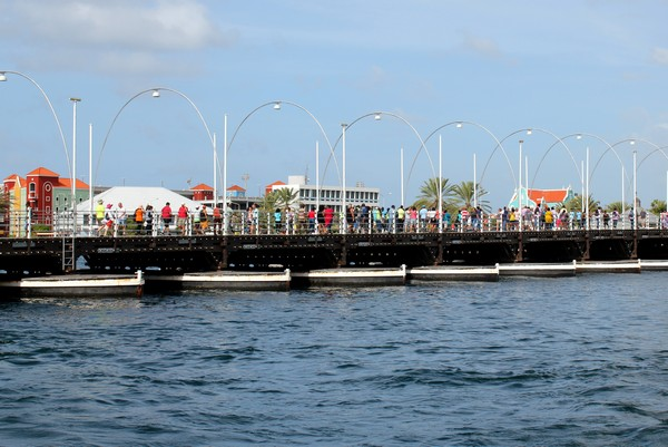 Queen Emma Bridge, Willemstad, Curacao
