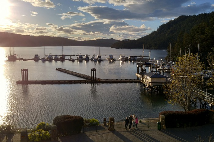 Poets Cove Resort, South Pender Island, British Columbia