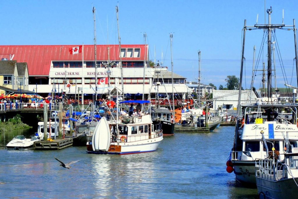 Steveston Fisherman Wharf