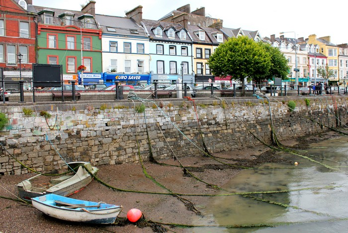 Cobh, County Cork, Fishing Boats, St Colmans Cathedral