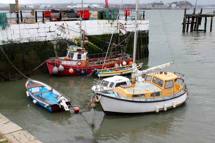 Cobh, County Cork, Fishing Boats