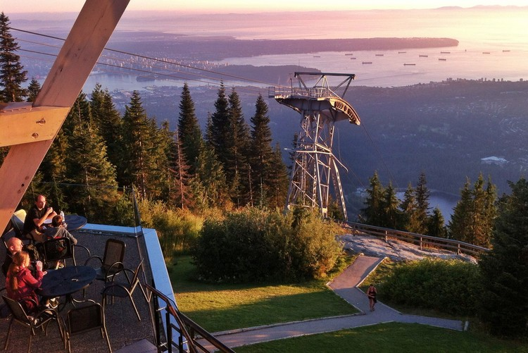 Grouse Mountain, View of Vancouver, top Vancouver attraction