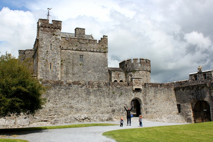 Cahir Castle, Limerick, Ireland road trip, Family travel