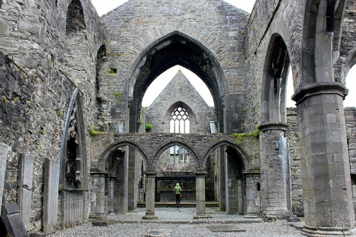 Sligo Abbey, Ireland road trip, Family travel