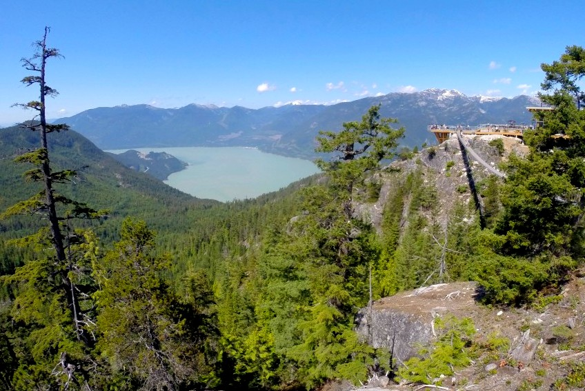 sea to sky gondola viewpoint Squamish, British Columbia