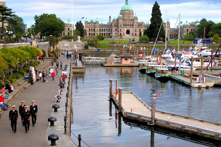 Victoria Inner Harbour waterfront, things to do in Victoria Canada