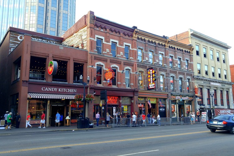 Broadway Street, Nashville, Tennessee, United States