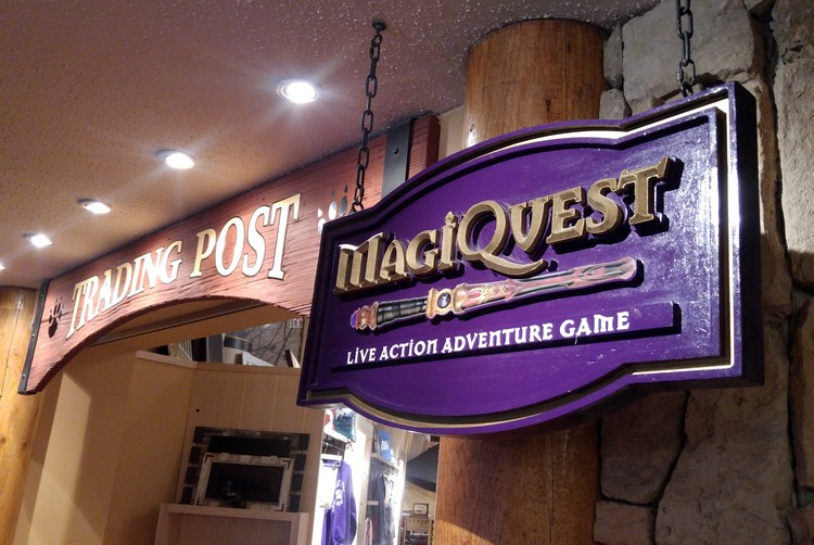 MagiQuest, Great Wolf Lodge in Niagara Falls, Ontario, Canada