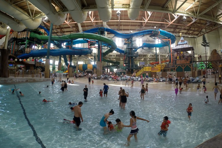 Great Wolf Lodge, Niagara Falls, Ontario, Canada