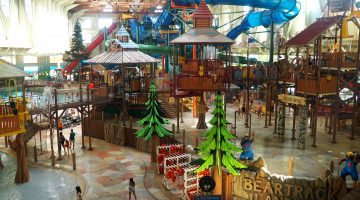 Our experience at the Great Wolf Lodge in Niagara Falls, Canada