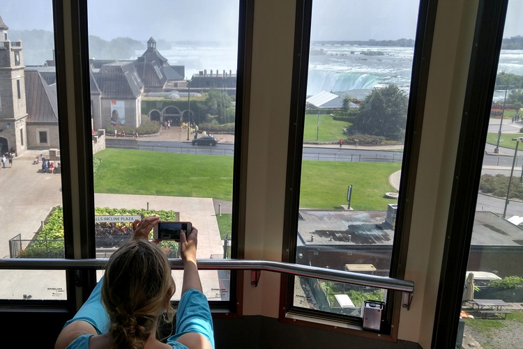 Falls Incline Railway, Niagara Falls, Ontario, Canada