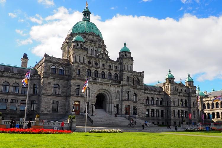 Victoria Parliament Building, British Columbia, Canada