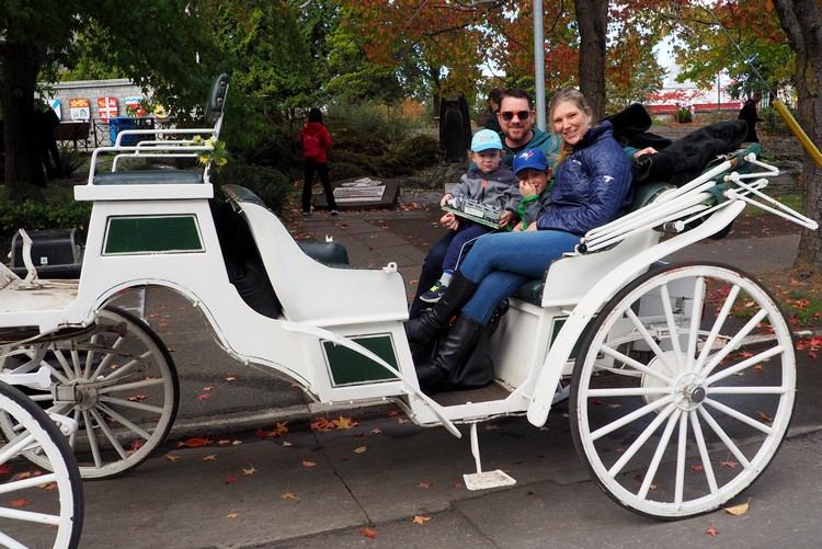 Victoria Horse Carriage Tour, British Columbia