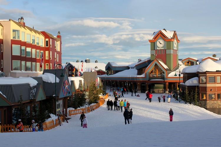 Big White Ski Resort, Kelowna, British Columbia, Canada