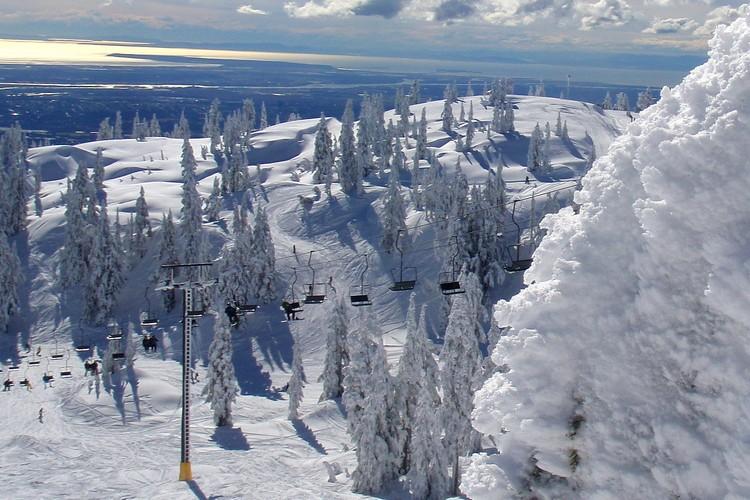 Mount Seymour in Vancouver, British Columbia