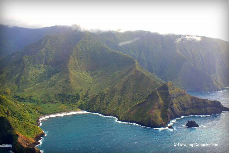 sea cliffs of Molokai Hawaii - top family travel destination