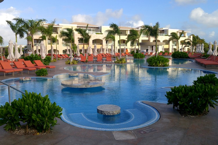 Pool at The Grand at Moon Palace Cancun Mexico