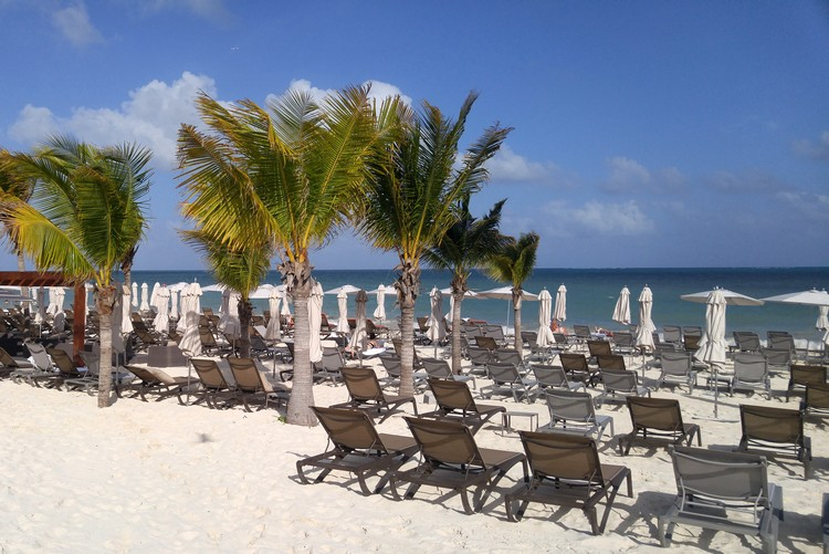 Beach at The Grand at Moon Palace Cancun Mexico