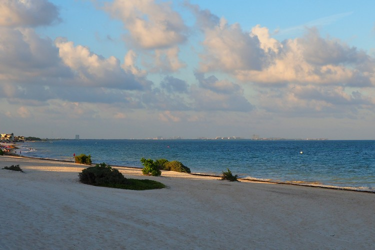 Beach At The Grand Moon Palace Cancun Mexico