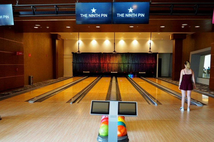 Indoor Bowling Alley at The Grand at Moon Palace