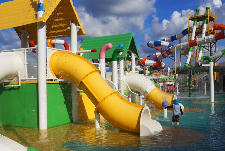 Water Park the Grand at Moon Palace Resort Cancun Mexico