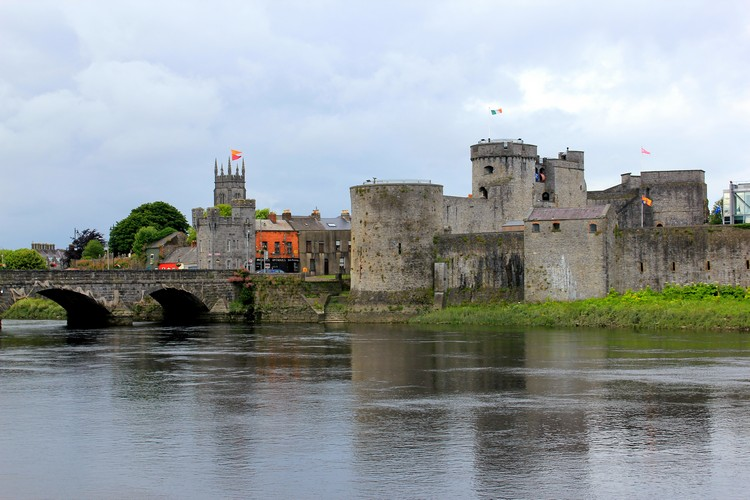 King John's Castle, 13th-century castle located on King's Island in Limerick, Ireland