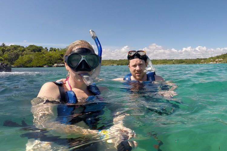 Snorkeling, Xel-Ha Park, Riviera Maya, Mexico