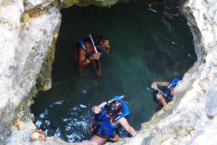 Xel-ha Cave, underwater cave, Mexico